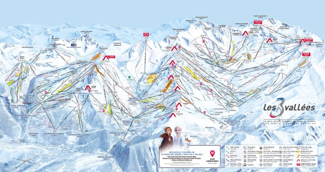Les3Vallees Trail Map