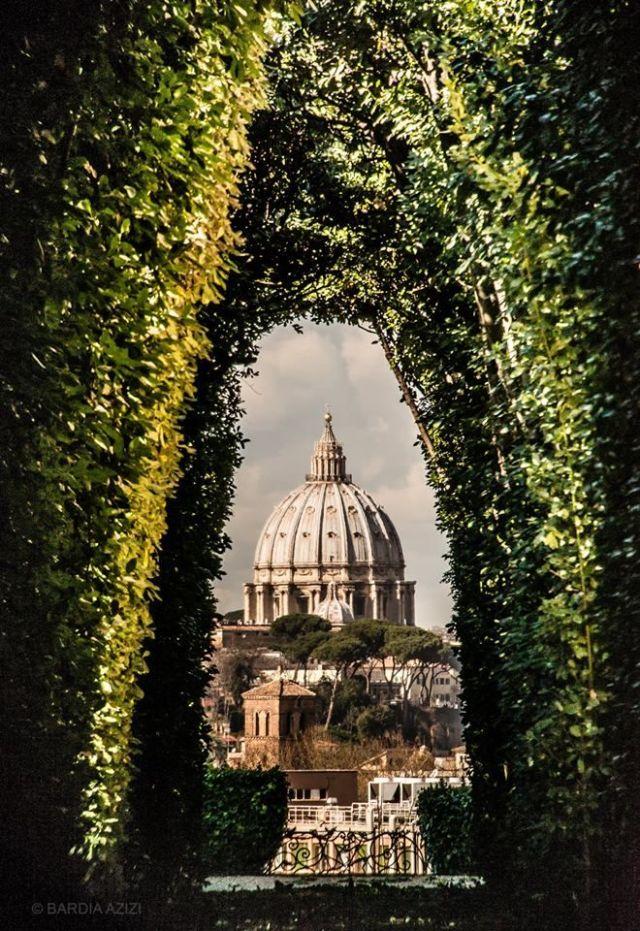 The Aventine Keyhole Vatican Keyhole