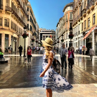 calle larios malaga 4 Days in South Of Spain