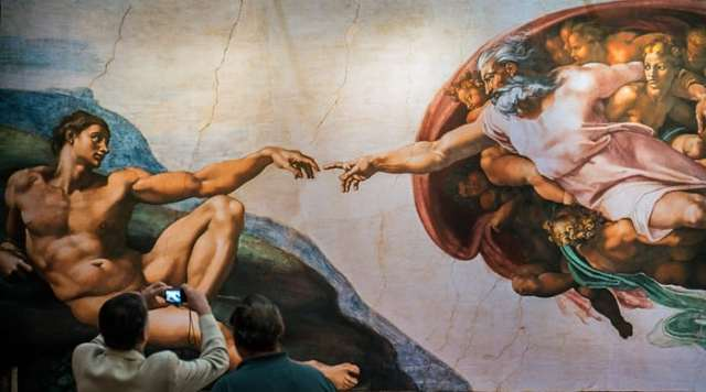 Sistine Chapel explore rome on a budget