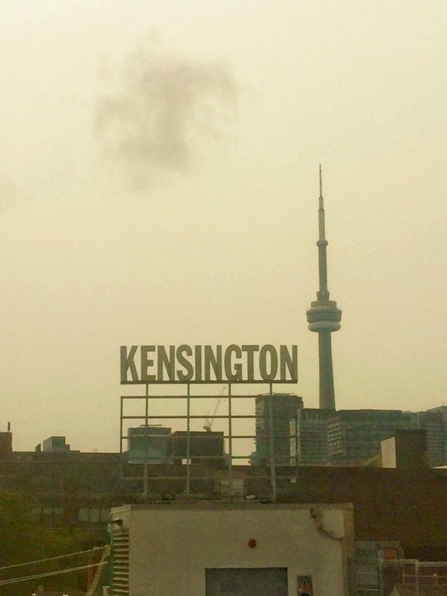 Kensington Sign Budget Travel Guide To Toronto