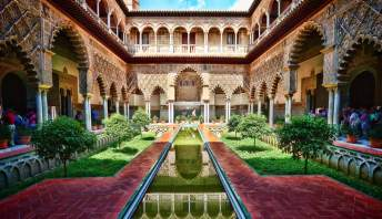 real alcazar 4 Days in South Of Spain