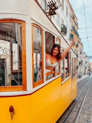 elevador da bica Travel to Lisbon On A Budget