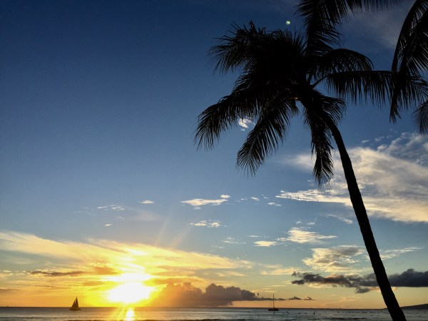 Waikiki Sunset Travel Budget Guide To Oahu