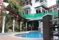 swimming pool at hotel coron bancuang mansion