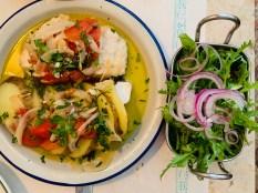 taberna restaurant cod fish