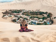 view of oasis in huacachina Ultimate Travel Guide To Peru