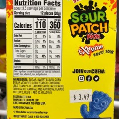 Do Sour Patch Kids Have Gelatin
