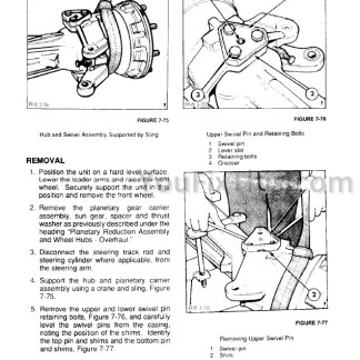 Ford New Holland 345d 445d 545d Repair Manual [Tractor Loader] – YouFixThisYouFixThis