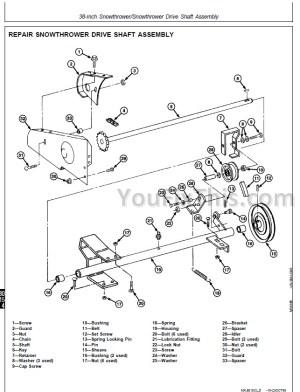 John Deere F510 F525 Repair Manual [Front Mower] « YouFixThis