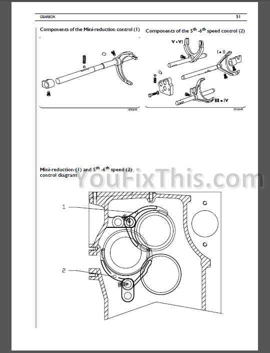 Same Silver 110 130 Repair Manual [Tractor]