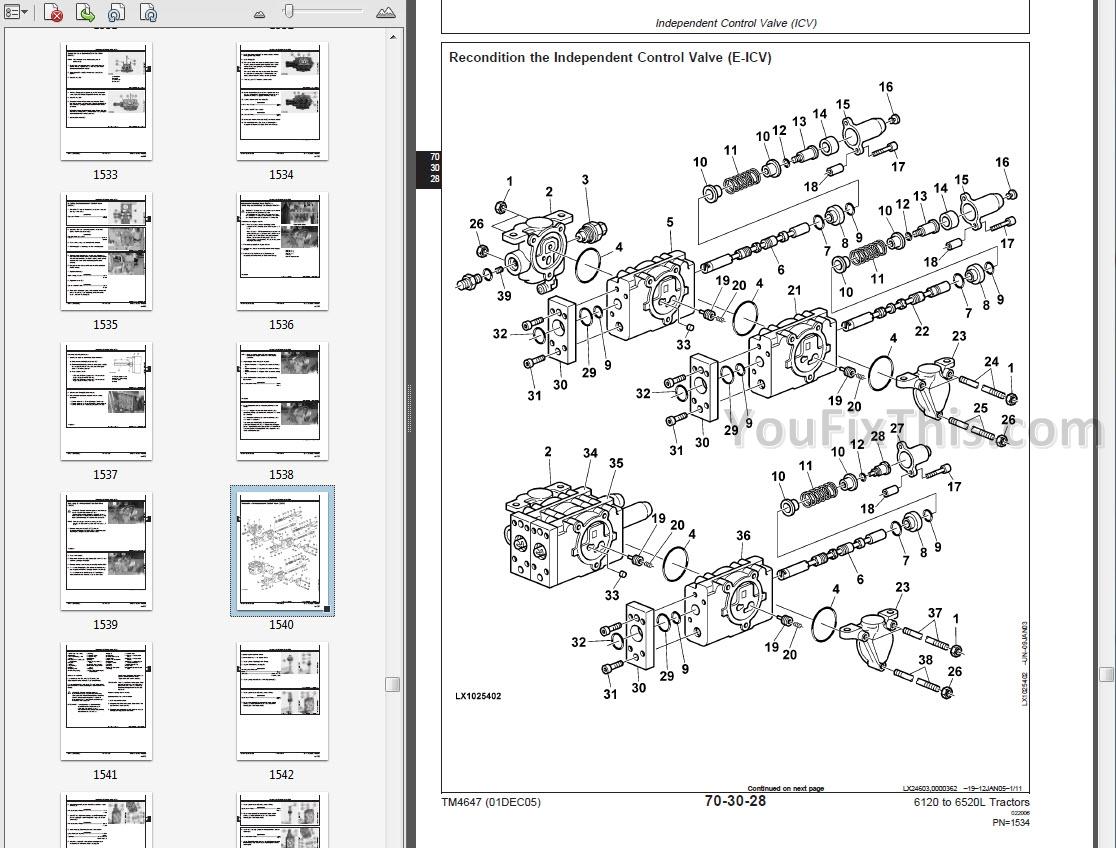 John Deere 6410 Wiring Diagram Trusted Schematics 2555 6420 Lights Wire Center U2022 Starters Diagrams