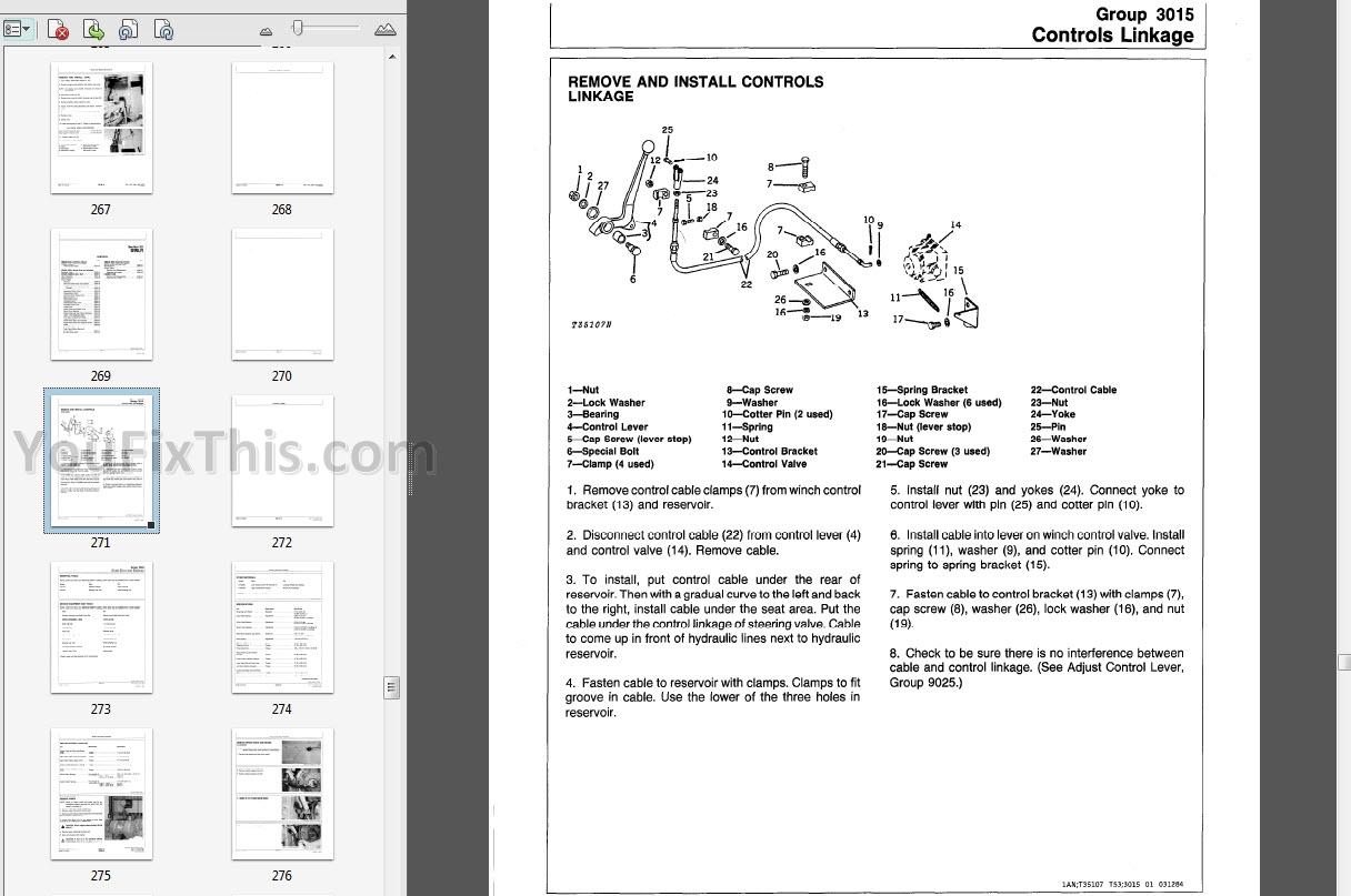 John Deere 400g Repair Manual Crawler Bulldozer Youfixthis
