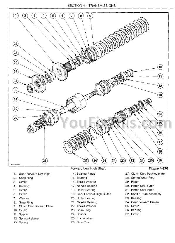 New Holland TT60A TT75A Repair Manual [Tractor]