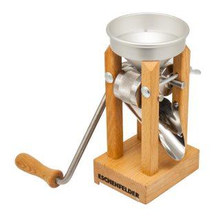 Eschenfelder Kornquetsche Tischmodell mit Alutrichter