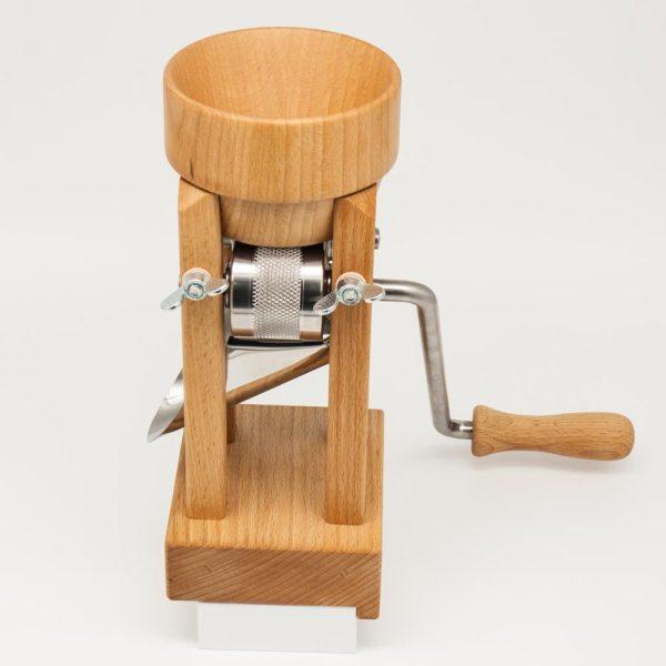 Eschenfelder Kornquetsche Tischmodell mit Holztrichter