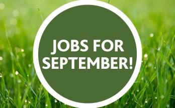 Gardening Jobs For September