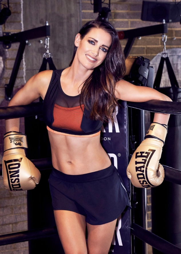 With Kirsty Gallacher