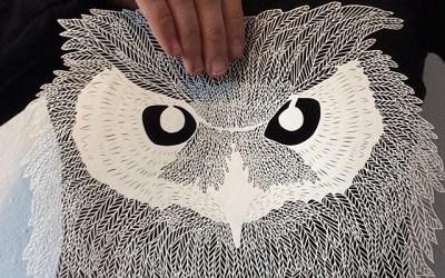 Brave Bird Paperwork par Maude White @maude_alta