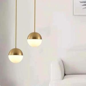 Vilmar Gold Pendant Light