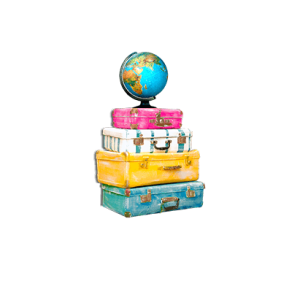 Just pack and go logo png image.