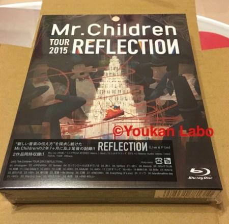 ミスチル reflection リフレクション ブルーレイ