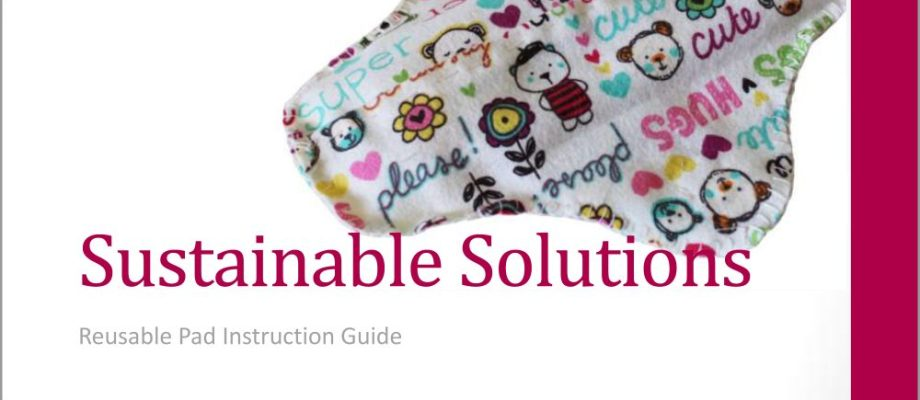 Reusable Pad Instruction Guide
