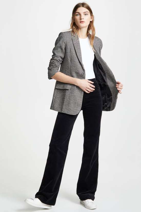 J Brand Velvet Joan High Rise Pants