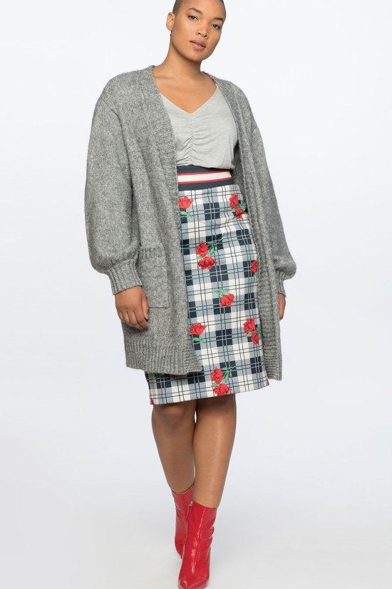 New Neoprene Pencil Skirt