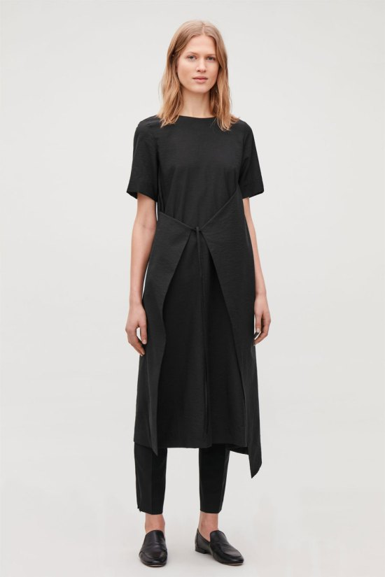 COS Asymmetric Tie Dress