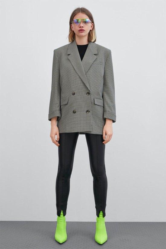 f4b50b3b05242 Zara Faux Leather Leggings