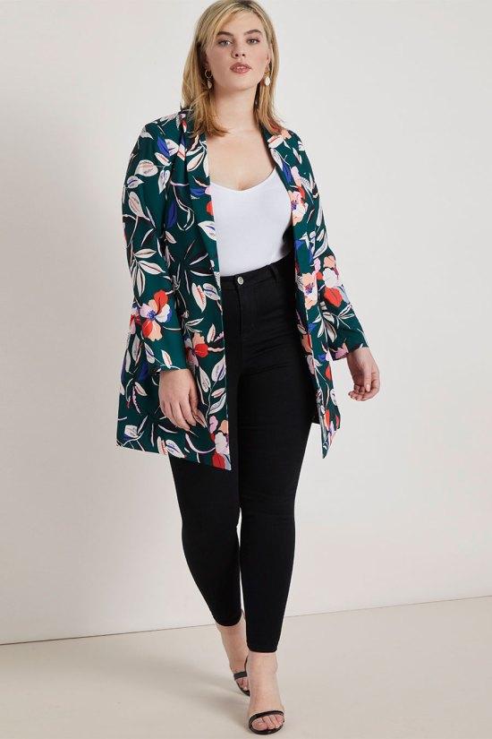 Eloquii Long Tailored Blazer