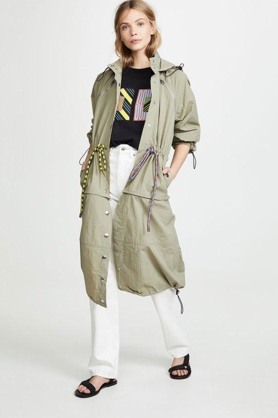 Proenza Schouler PSWL Drawstring Coat