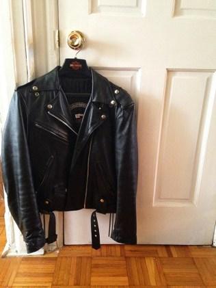 Harley Davidson moto jacket vintage via youmademelikeyou.com