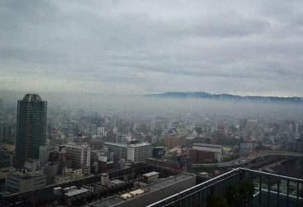 view of Osaka, Japan via youmademelikeyou.com