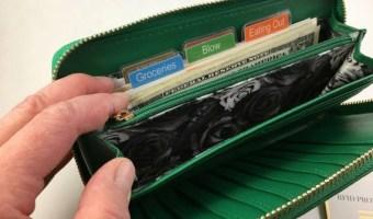 Printable Cash Envelope Tabs