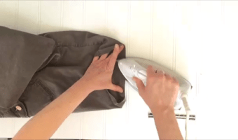 DIY: Hemming Pants And Shorts That Are Too Long