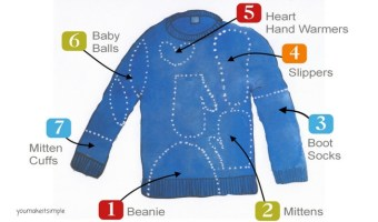Make It With An Upcycled Sweater
