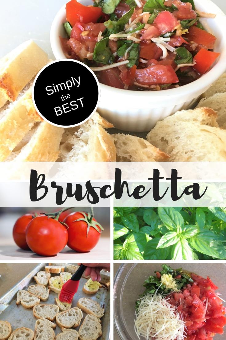 Bruschetta youmakeitsimple.com