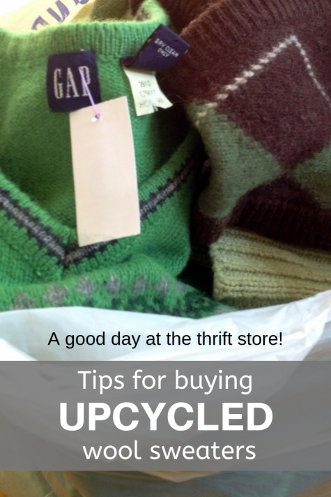 THRIFT STORE SWEATER TIPS-YOUMAKEITSIMPLE