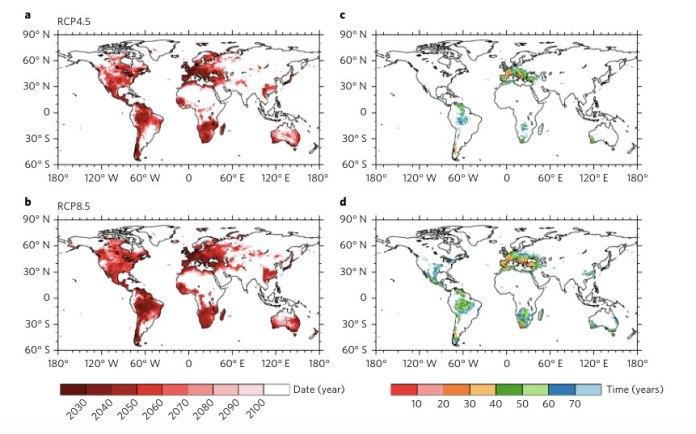 desertification increases global warming