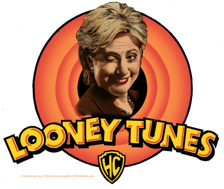 Hillary Clinton, Looney Tunes