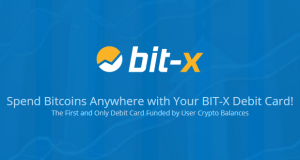 BIT-X Bitcoin Debit Card