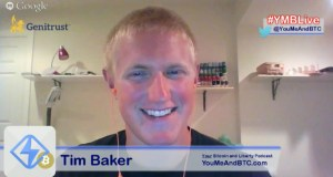 Tim Baker on #YMBLive Bitcoin Headlines