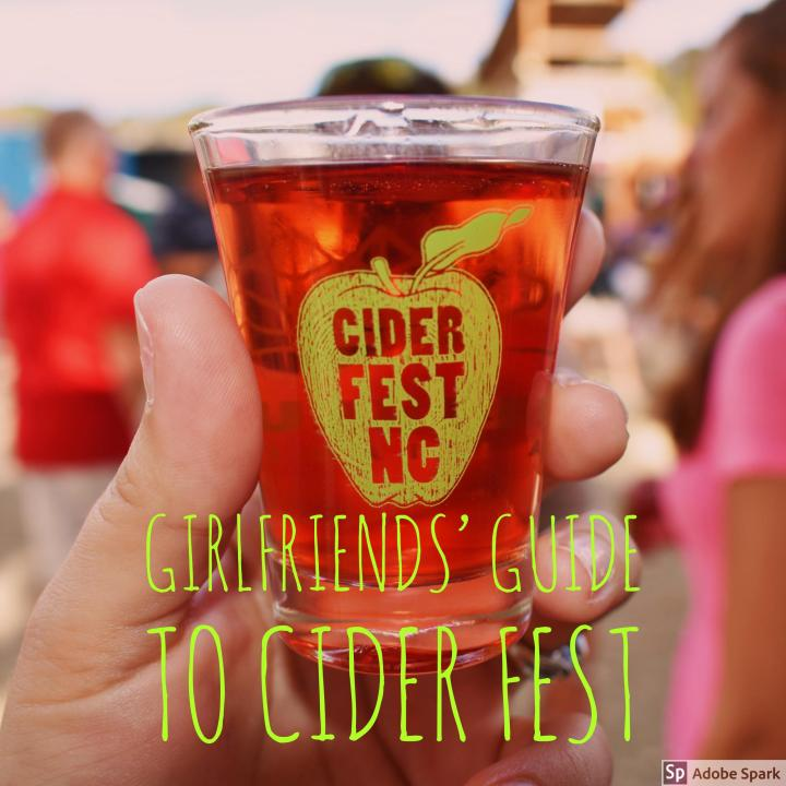 GIRLFRIENDS' GUIDE TO CIDER FEST