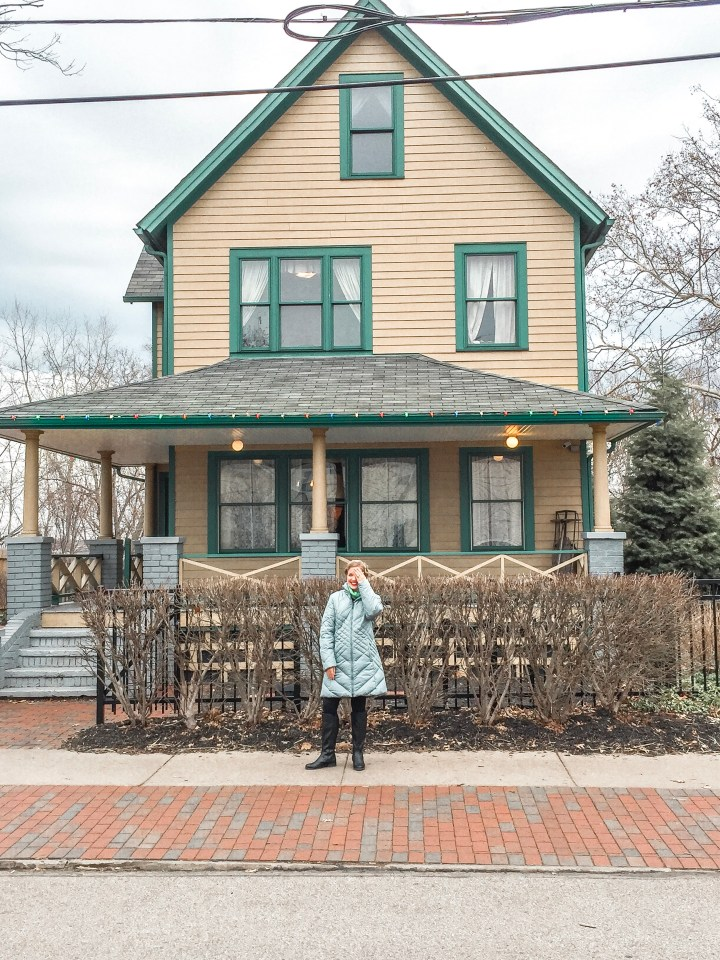 TOUR A CHRISTMAS STORY HOUSE IN CLEVELAND, OHIO