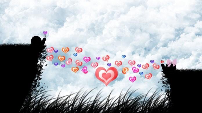 Love-Heart-Shaped-Wallpaper For PC