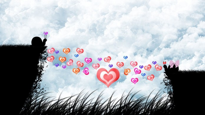 Love-Heart-Shaped-Wallpaper For PC