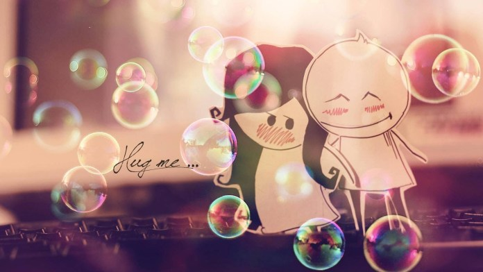 Cute-Love Wallpaper For WideScreen