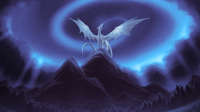 Blue-Dragon Art